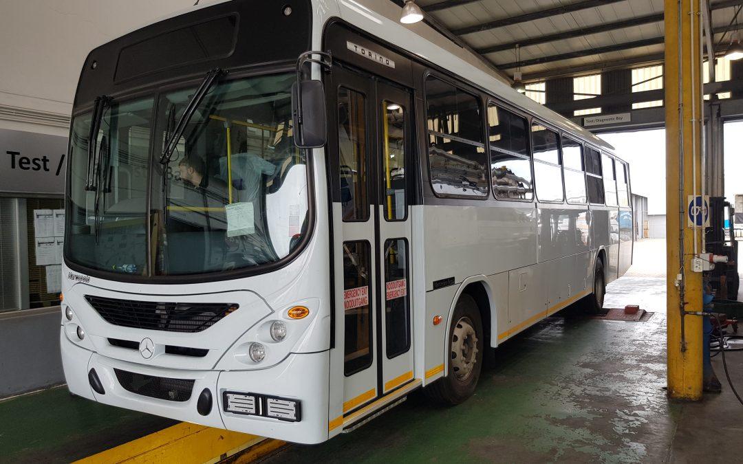 Firma Zwick GmbH & Co. KG  spendet Bus im Wert von 124.000 €