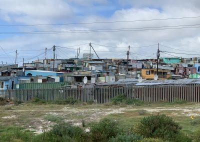 Township Nähe Cape Town