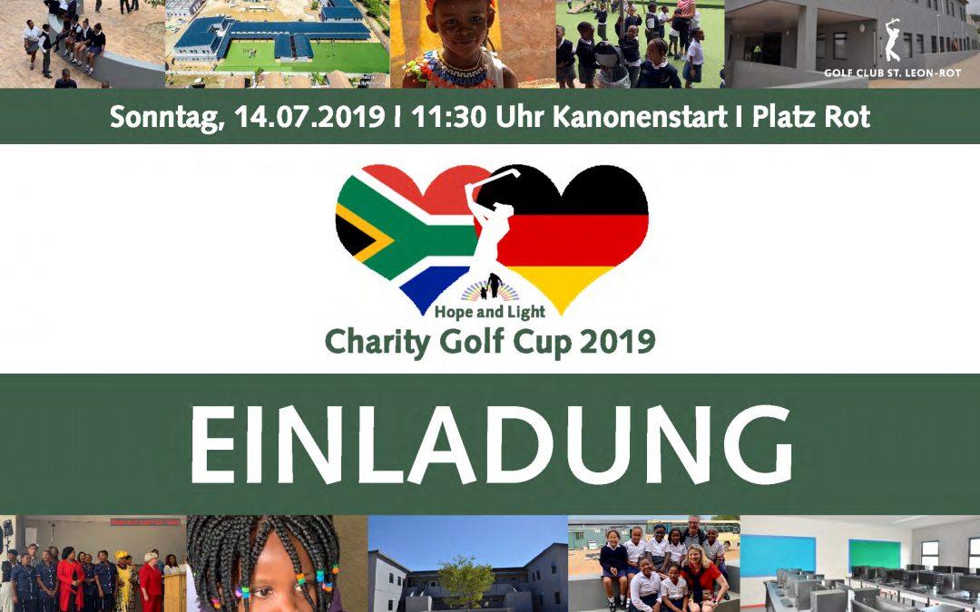 5. Charity Golf Cup 2019 – Einladung
