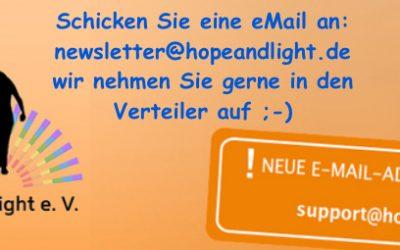 April Newsletter – deutsch