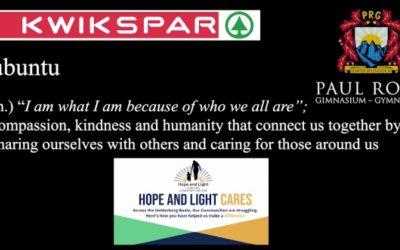 Hope and Light Cares -> schauen Sie sich das Video an