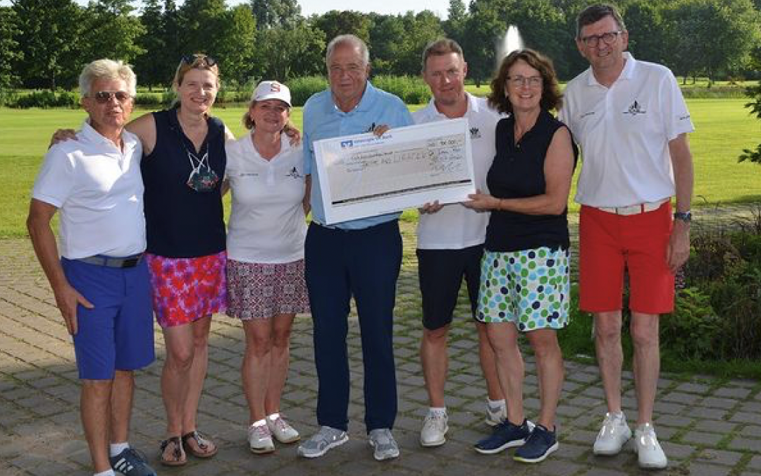 Charity Golf Cup erspielt 100.000€ für den guten Zweck