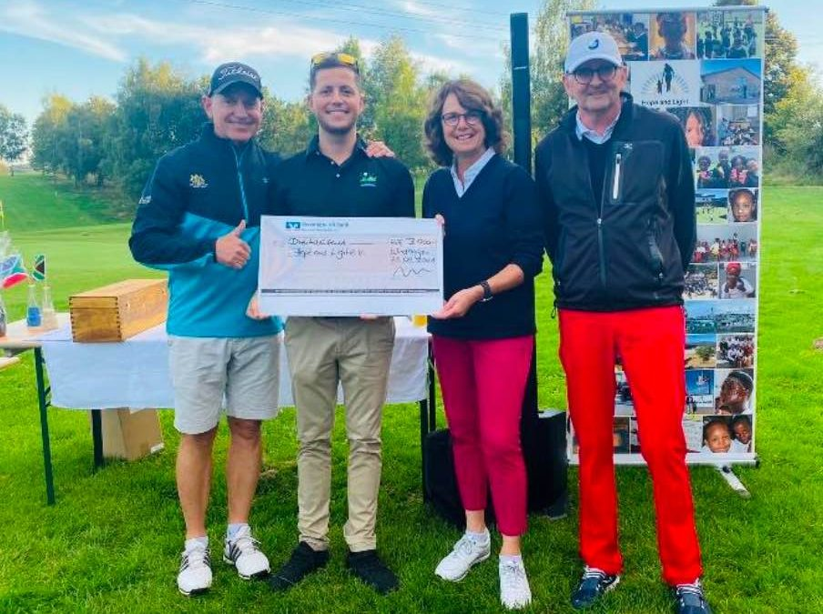 Erstes Hope and Light Turnier am Golfclub Waldbrunnen